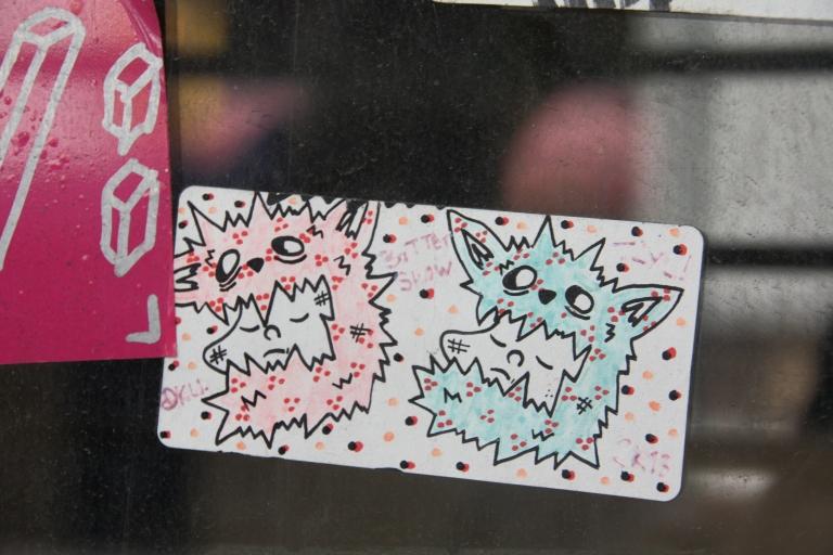 graffiti art, chestnut street