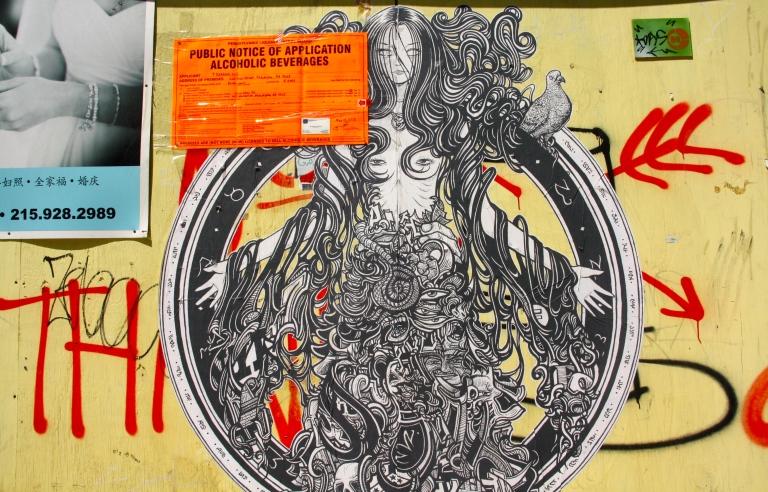 street art, philadelphia