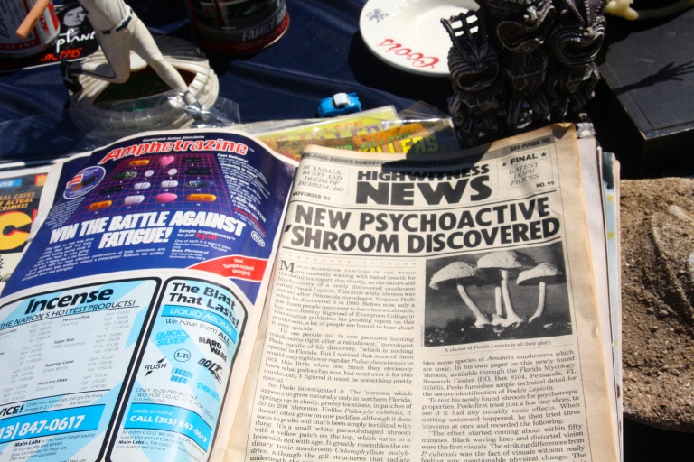 magazine, society hill flea
