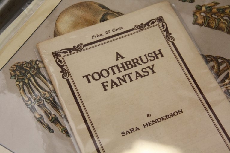 """a toothbrush fantasy"""