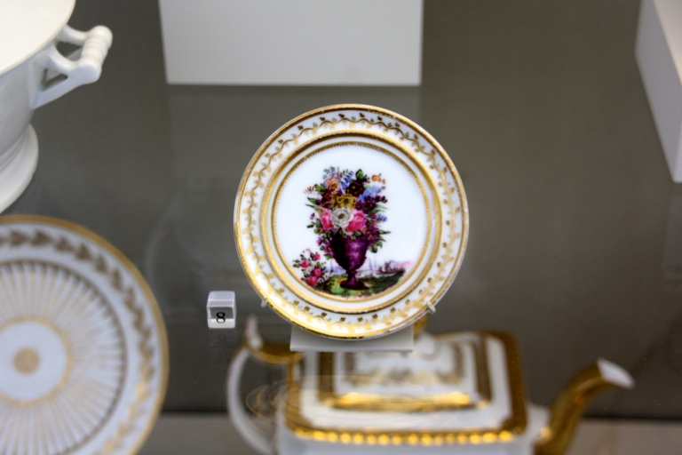 tiny new wave rococo plate