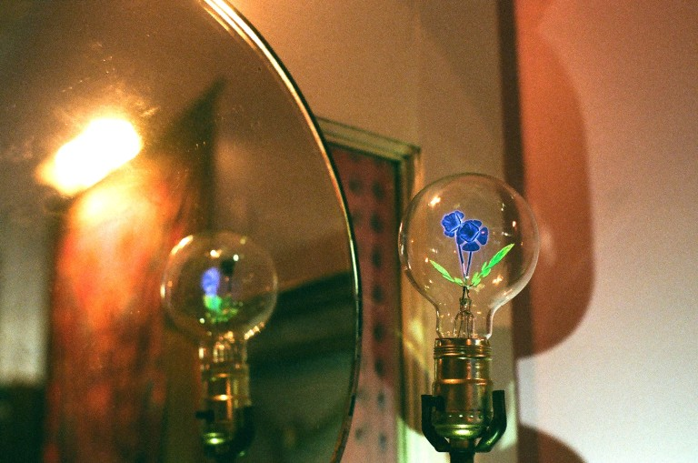 holographic light violet