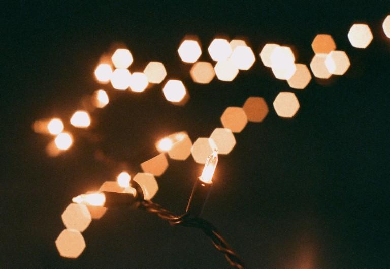 macro fairy light